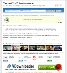 keep-tube,com screenshot 1 download youtube video free website downloader