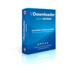 vdownloader, download youtube videos, retail box