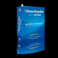 vdownloader, download youtube videos, retail box