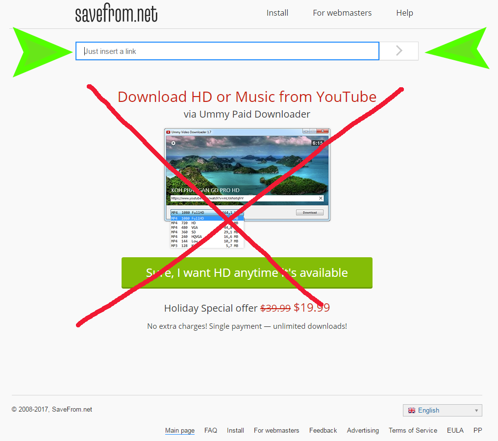 SaveFrom, Download Youtube Video & Convert Youtube Mp3 ...