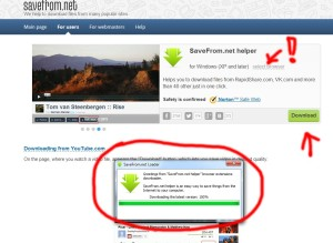 savefrom.net helper plugin download youtube vk soundcloud video audio installation screenshot 2