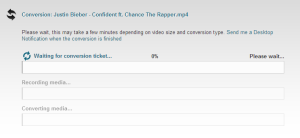 clipconverter cc download youtube videos audio vimeo dailymotion soundcloud save screenshot3 cionversion starts