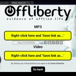download youtube android free offliberty no app - step 9 final screen with video and audio links for download