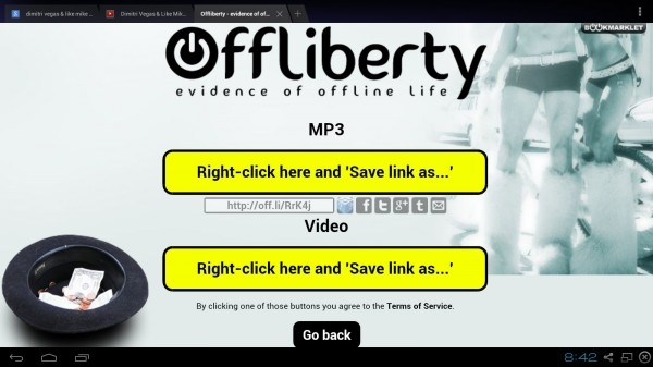 Offliberty is a free to use web-based platform that lets you access any online content without a permanent internet connection. It is specially made for those users who have limited access to the internet connection. It is also known as one of the best web content extraction tools that help to capture videos audio and images from multiple websites.