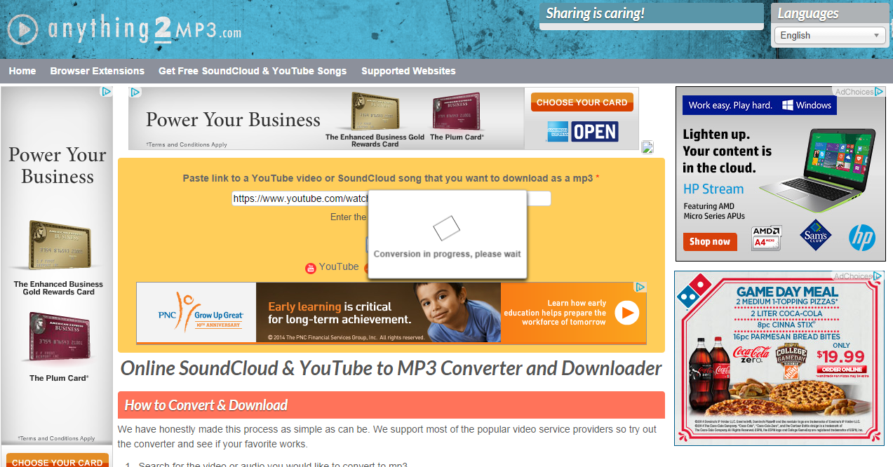 anything2mp3 com anything 2 mp3 convert any online video to