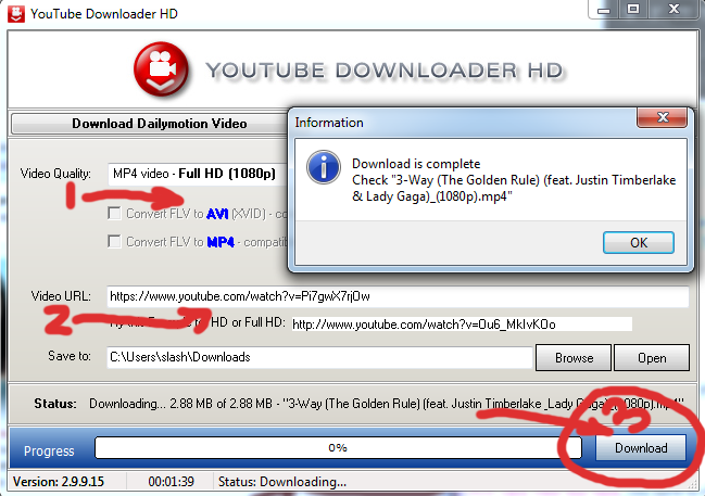 youtube downloader hd download youtube videos high definition confirmation download screen