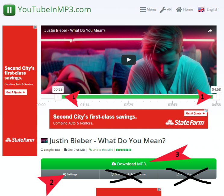youtubeinmp3 second step download mp3
