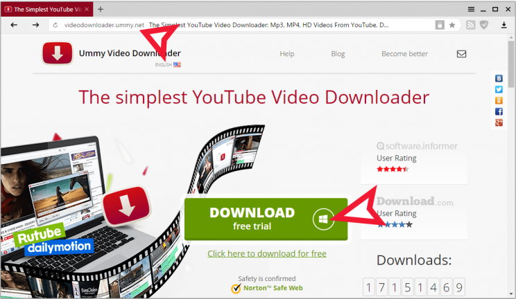 ummy video downloader how to download for free