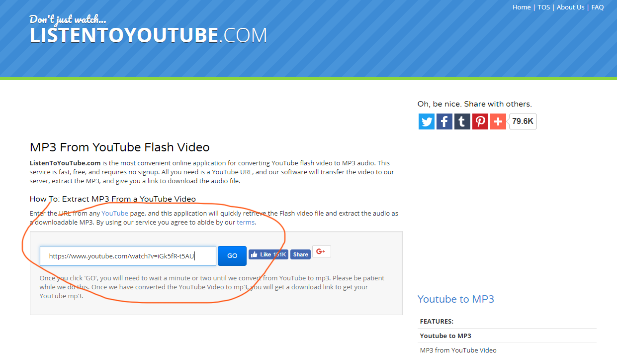 Listentoyoutube Com Review And Step By Step Tutorial Of Mp3 Converter