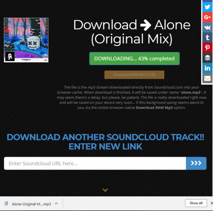 soundcloud to mp3 download part