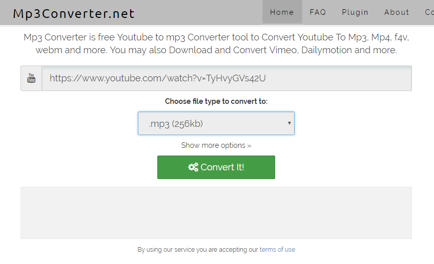 Mp3Converter net Quick way to save youtube to mp3 Review