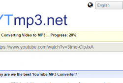 ytmp3.net youtube mp3 client side converter review tutorial step 3 your device is converting audio to mp3