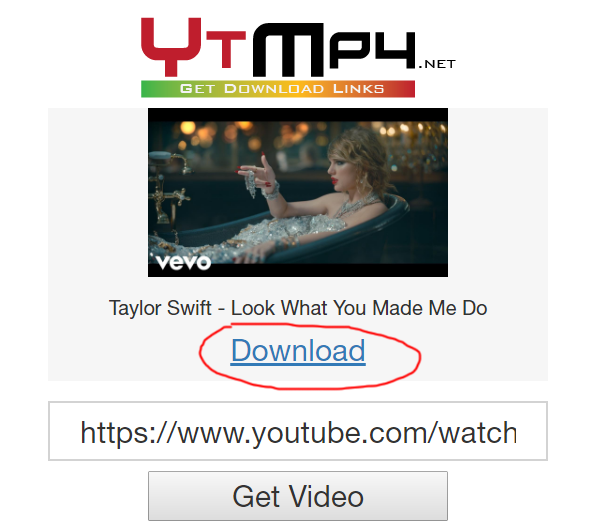 ytmp4.net review tutorial download youtube videos to mp4 step 2 enter the video link and click GET VIDEO