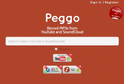 PEGGO.TV review and tutorial step 1 open front page of peggo