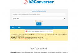 h2converter.com tutorial step 1 front page