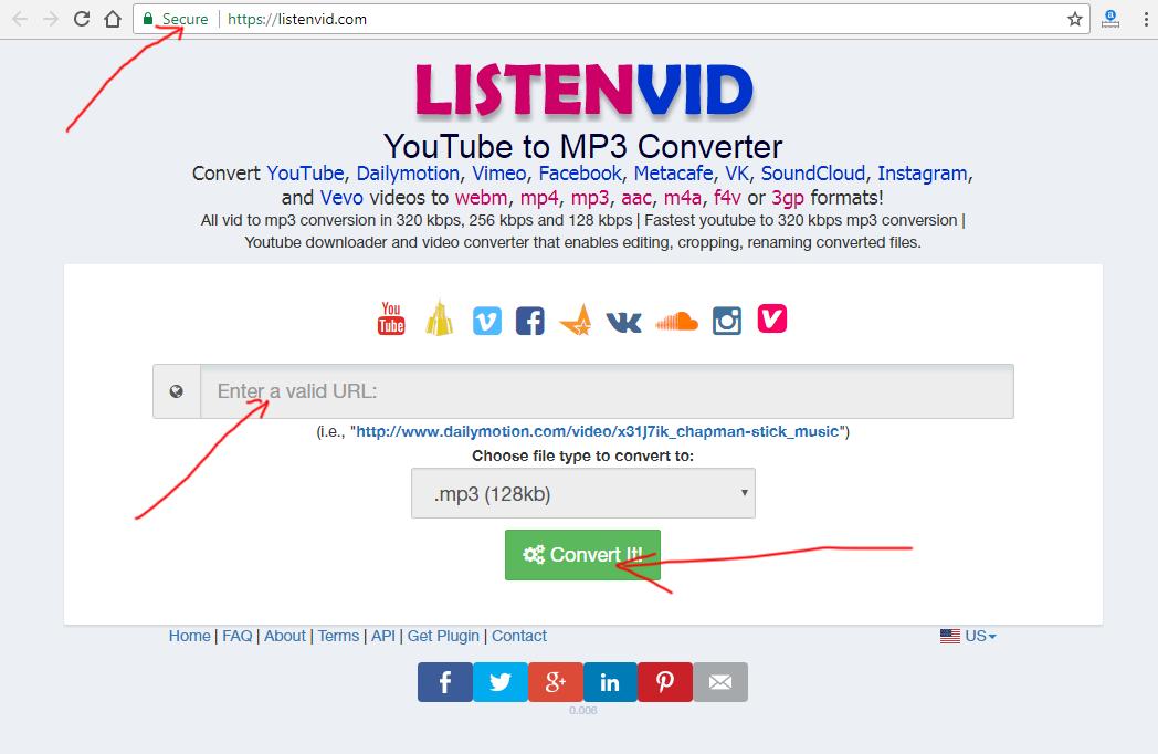 Listenvid com - youtube to mp3 downloads & converter, video