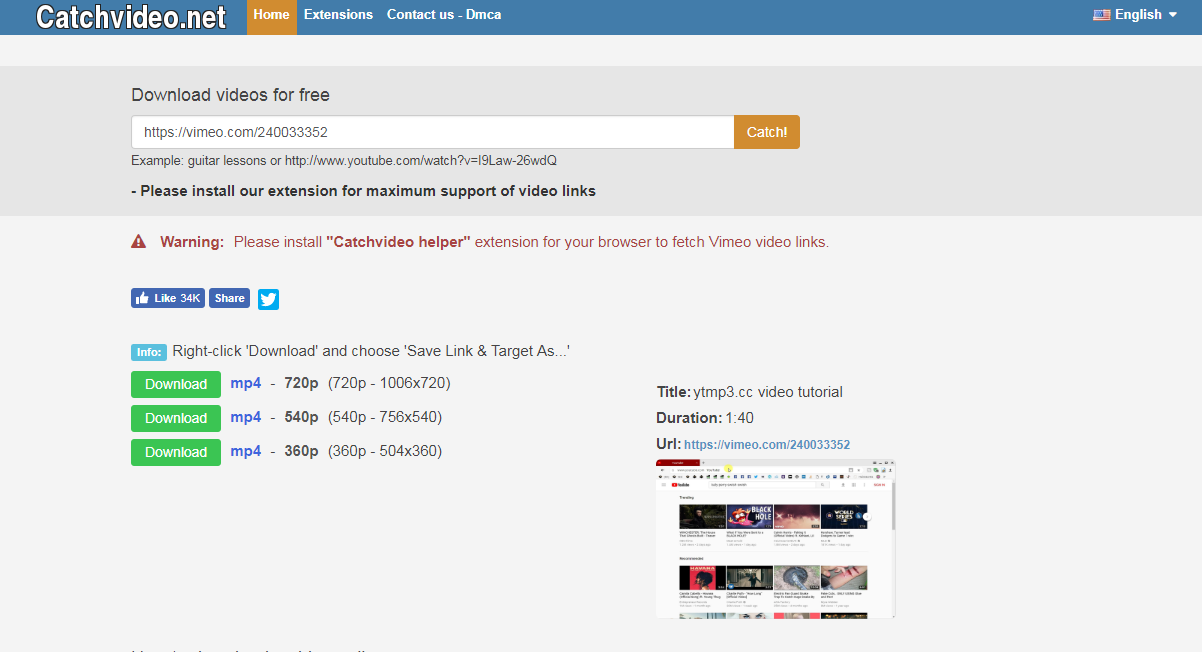 catchvideo net