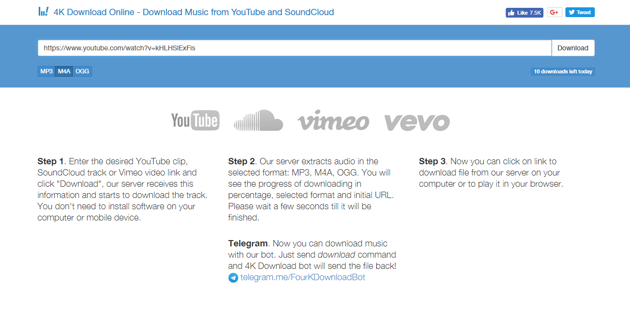 Where to download music in ogg format