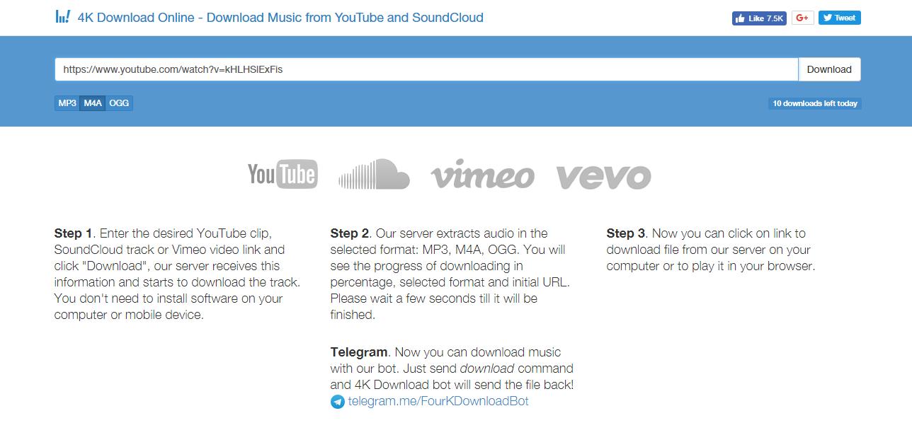 Review Online version 4kdownload com youtube downloader and
