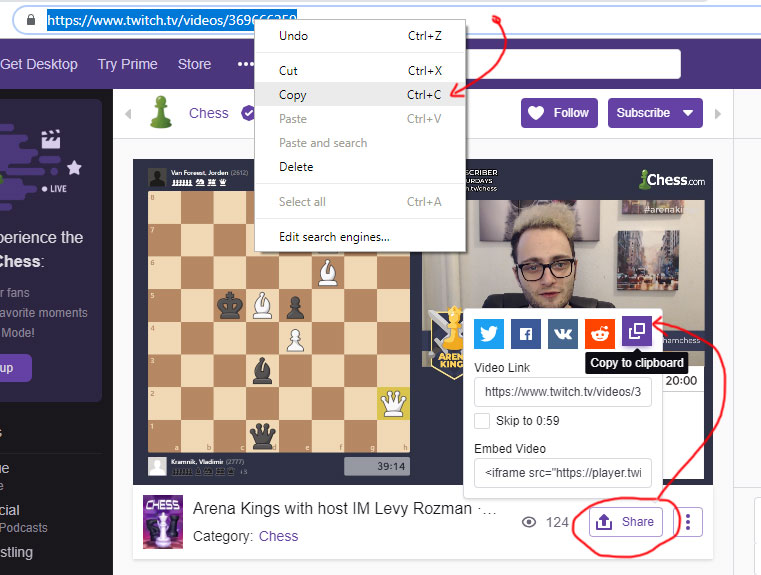download twitch videos using youtube-dl