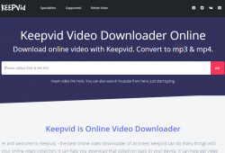 keepvid front page