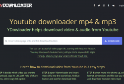 ydownloader front page
