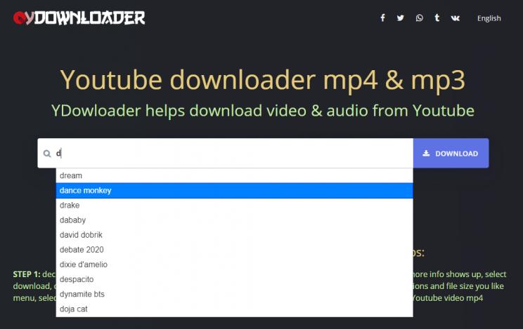 ydownloader search videos